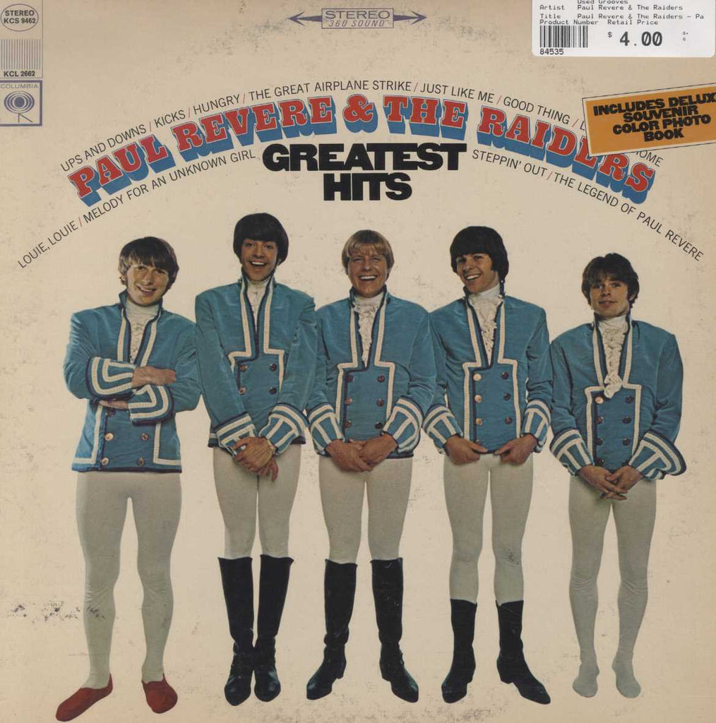 Paul Revere & The Raiders - Paul Revere & The Raiders' Greatest Hits