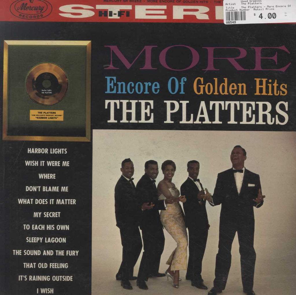 The Platters - More Encore Of Golden Hits