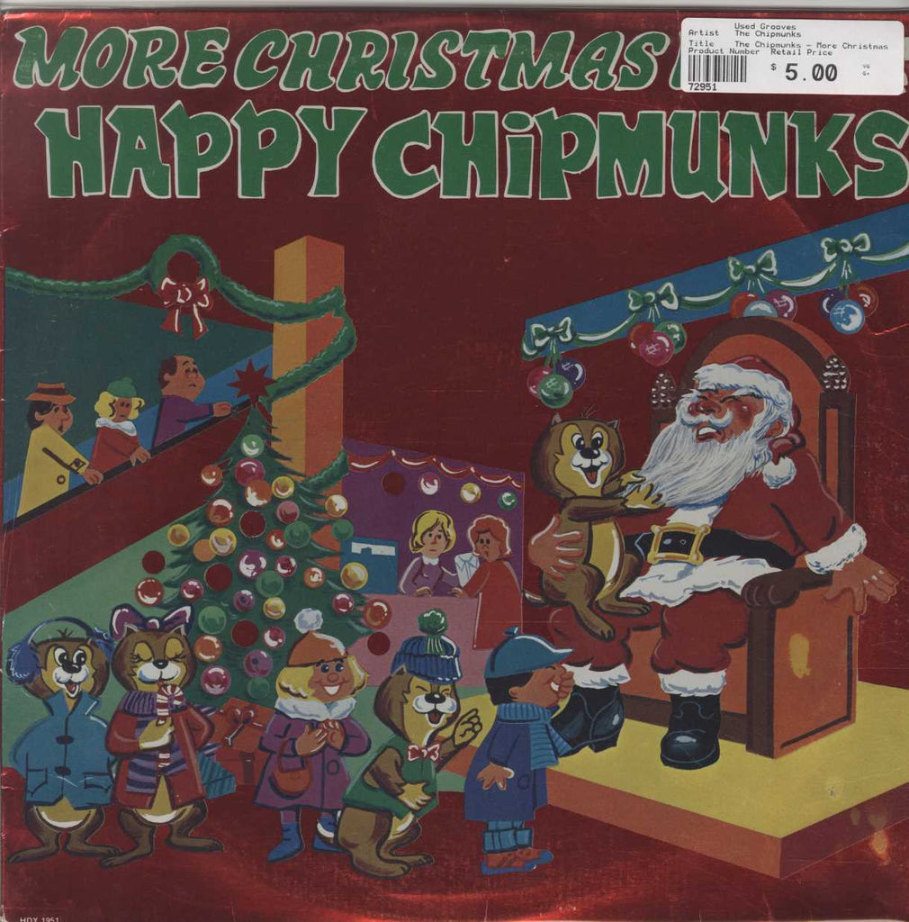 The Chipmunks - More Christmas Fun With The Happy Chipmunks