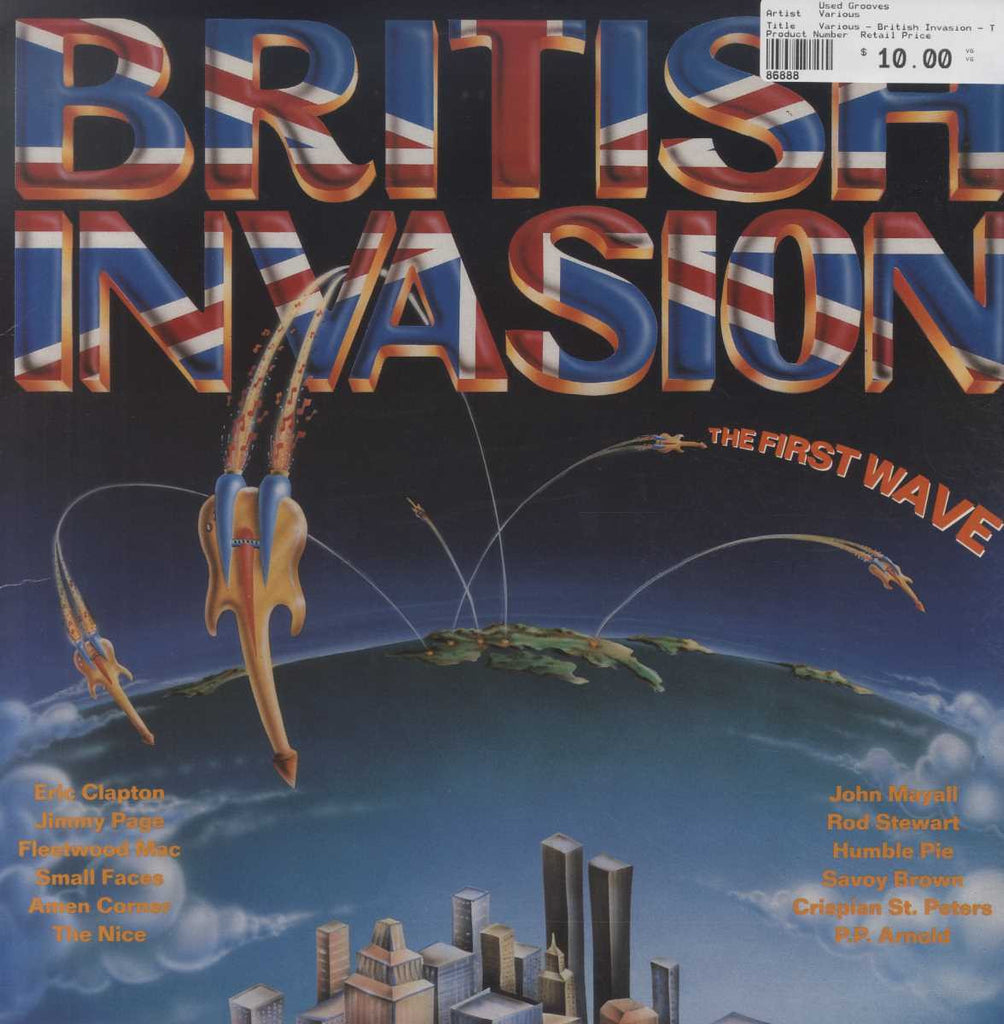 Various - British Invasion - The First Wave