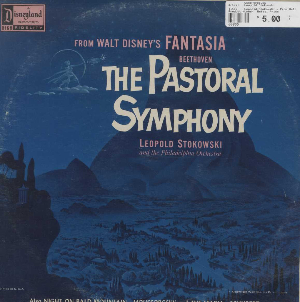 Leopold Stokowski - From Walt Disney's Fantasia: The Pastoral Symphony