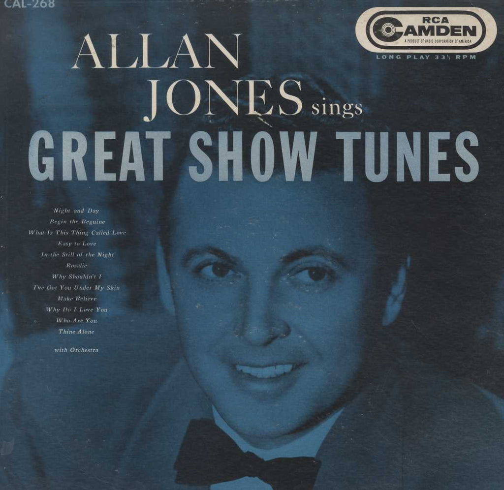 Allan Jones  - Allan Jones Sings Great Show Tunes