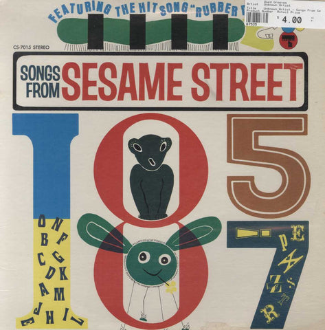 Unknown Artist - Songs From Sesame Street