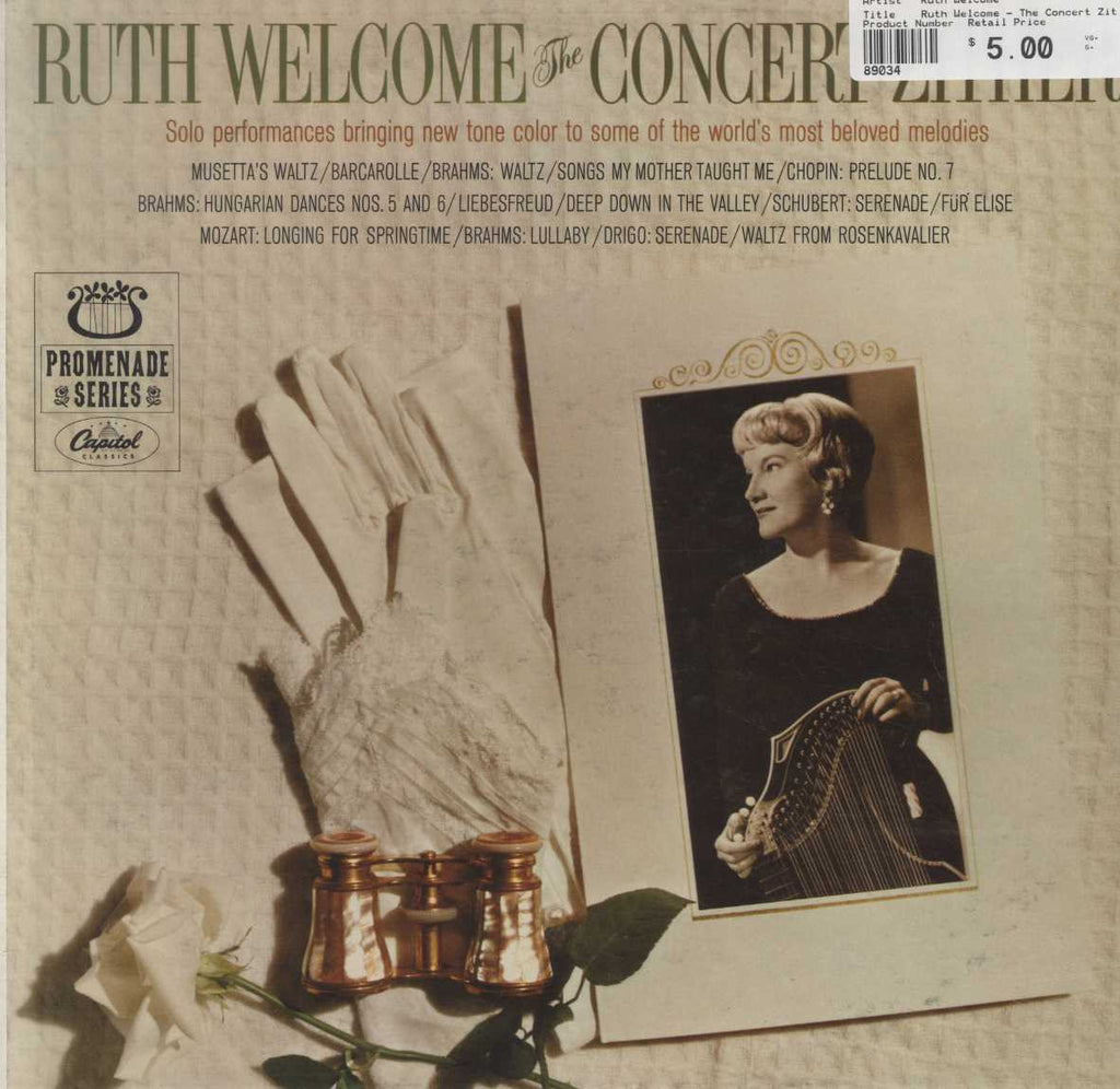 Ruth Welcome - The Concert Zither