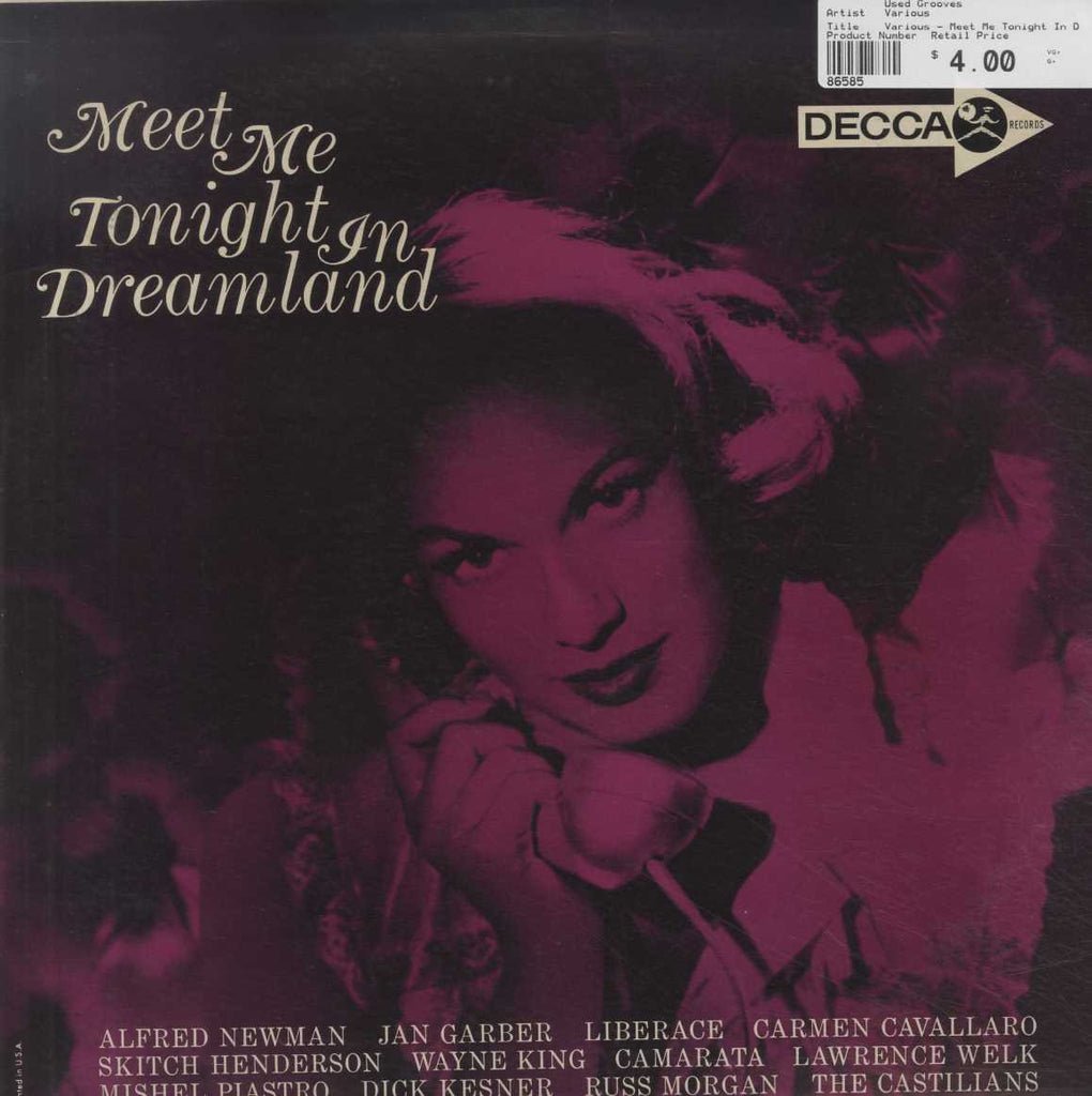 Various - Meet Me Tonight In Dreamland