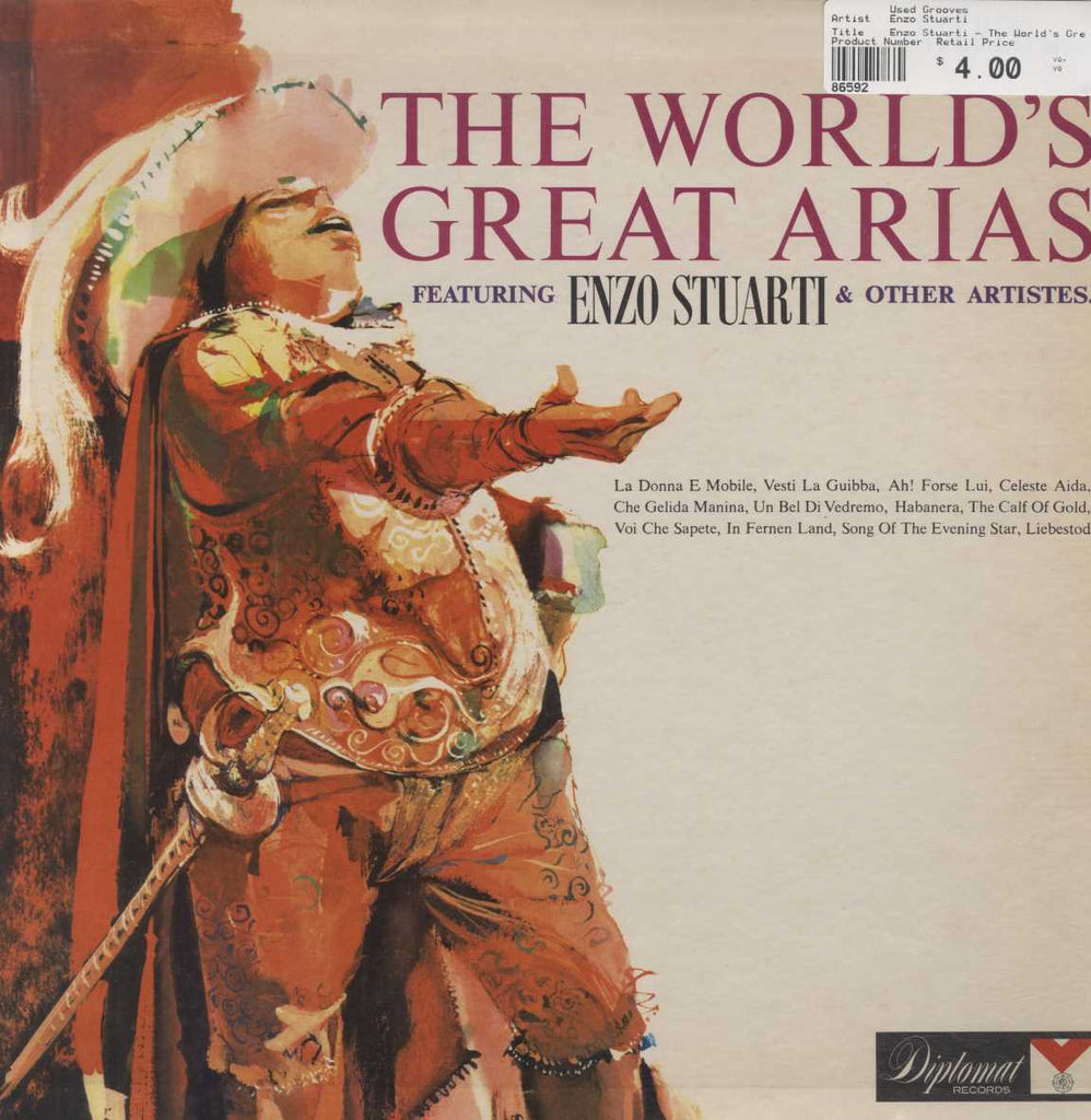 Enzo Stuarti - The World's Great Arias
