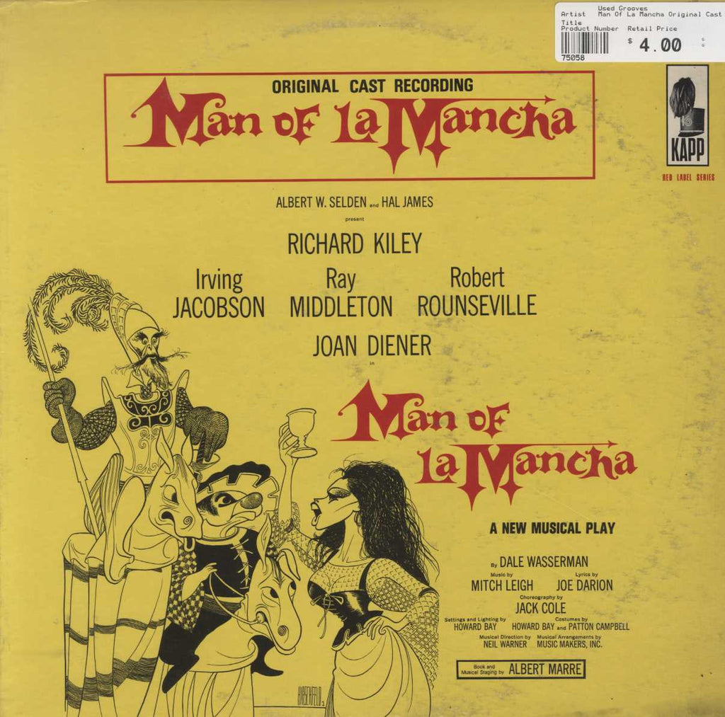 """Man Of La Mancha"" Original Cast - Man Of La Mancha"