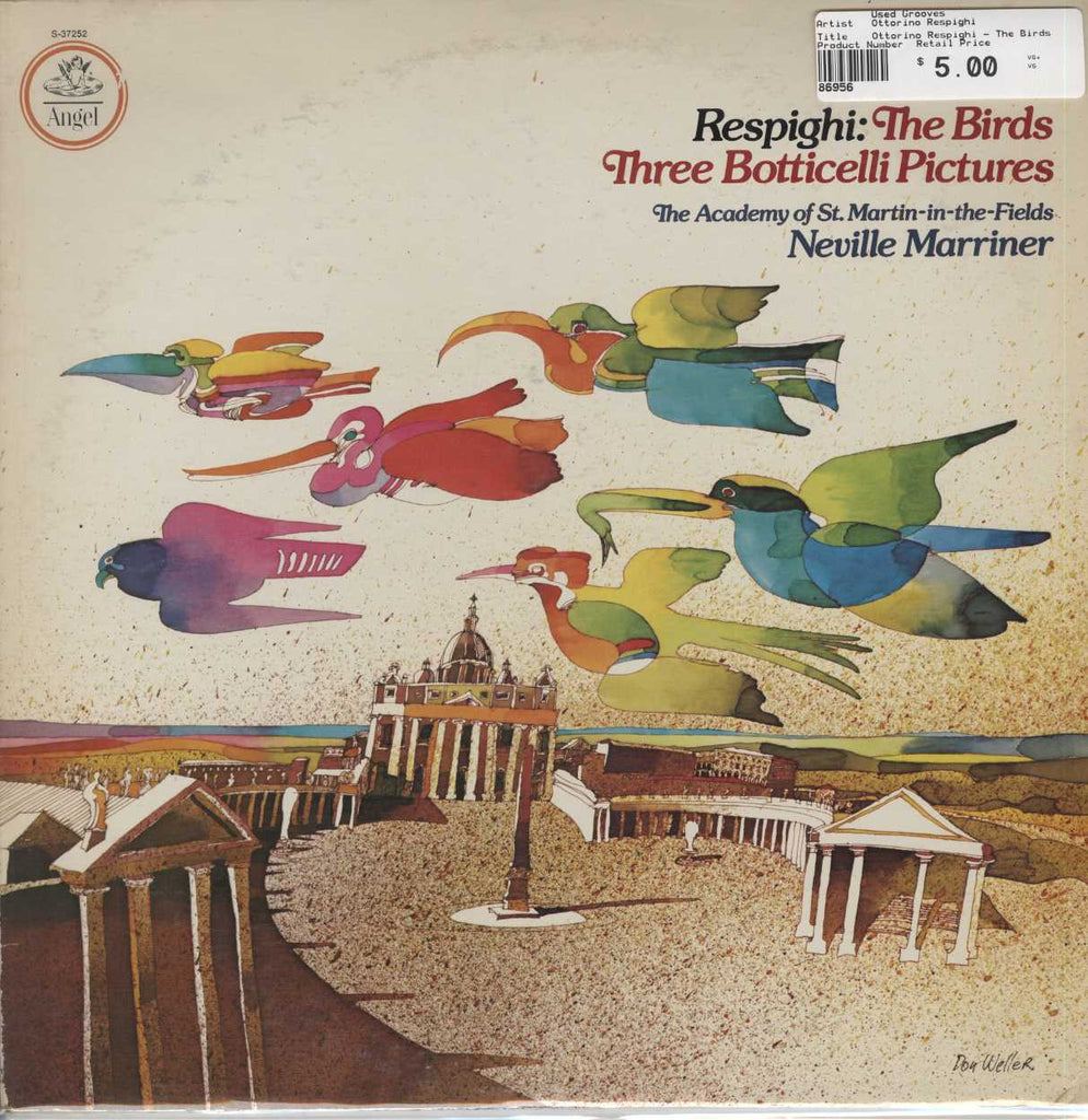 Ottorino Respighi - The Birds / Three Botticelli Pictures
