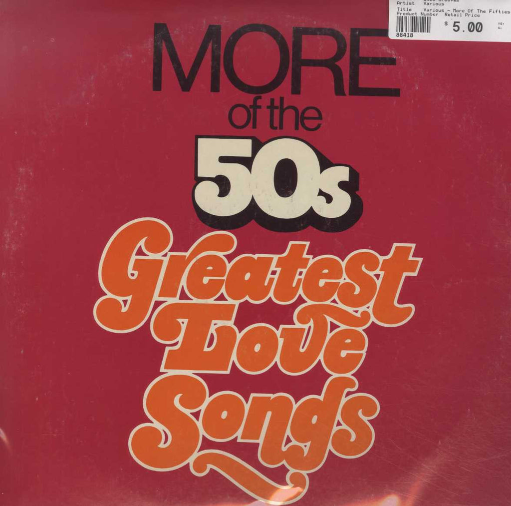Various - More Of The Fifties Golden Hits