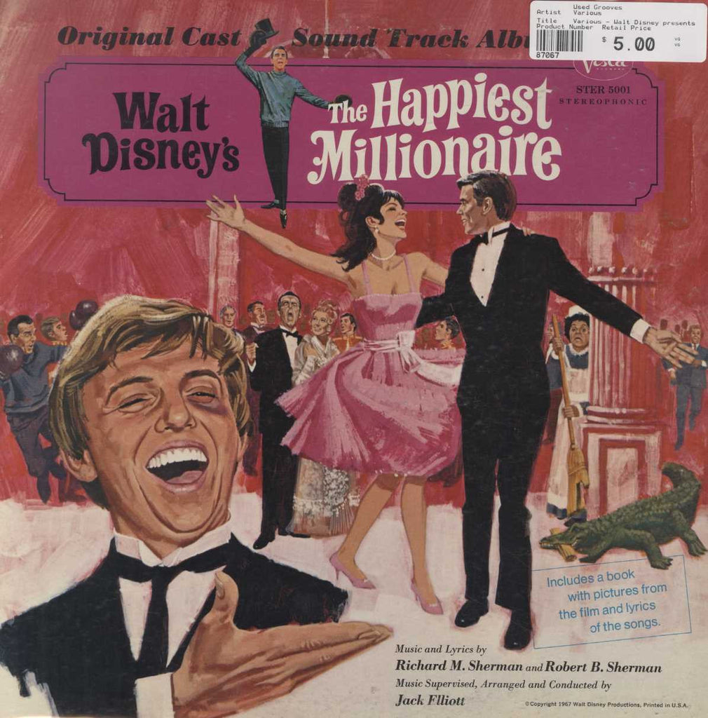 Various - Walt Disney presents The Happiest Millionare