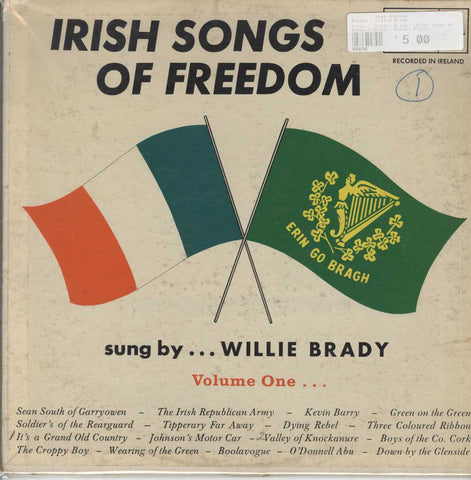 Willie Brady - Irish Songs of Freedom