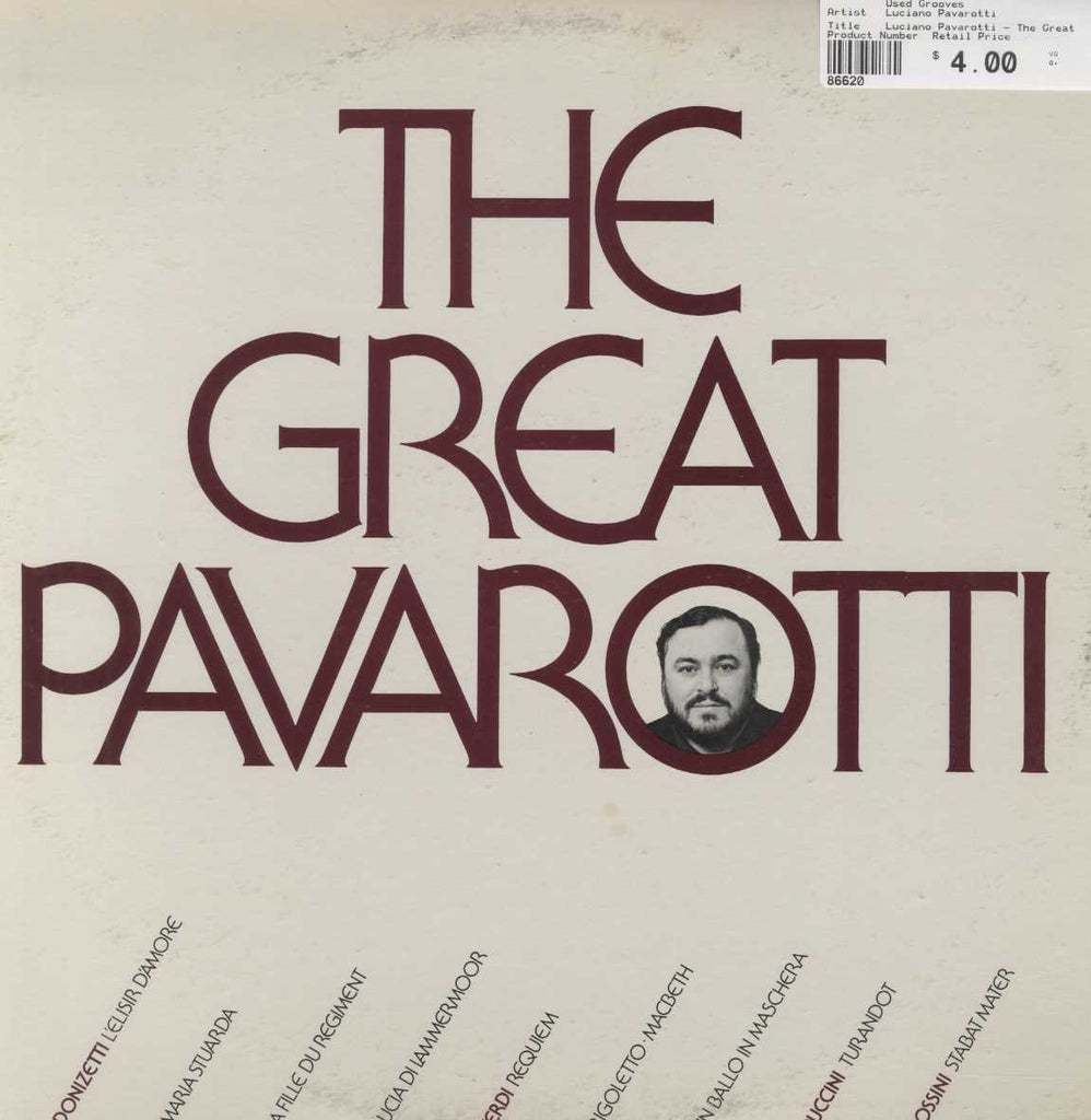 Luciano Pavarotti - The Great Pavarotti