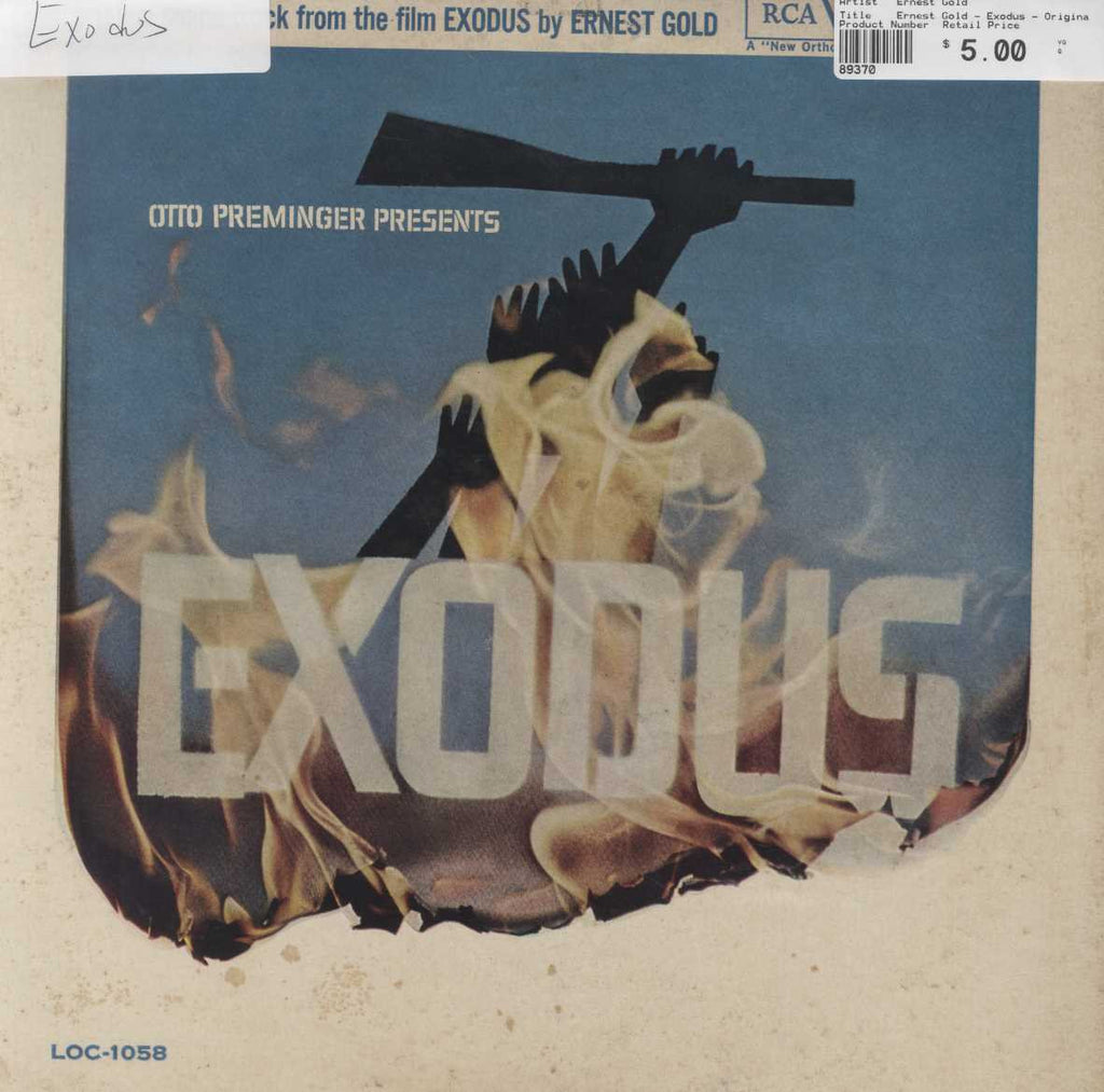 Ernest Gold - Exodus - Original Soundtrack
