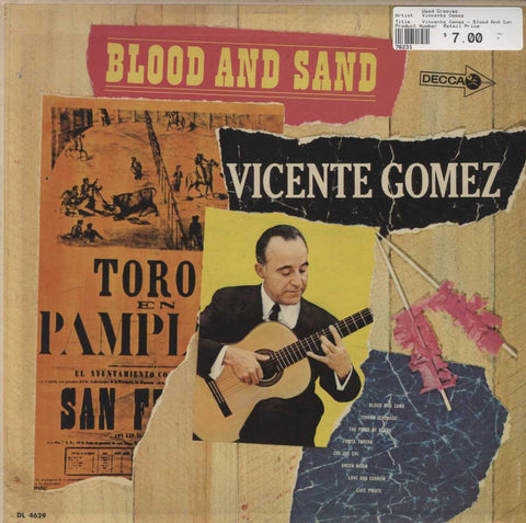 Vincente Gomez - Blood And Sand