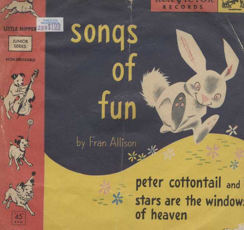 Fran Allison - Songs Of Fun--Part 1, 2