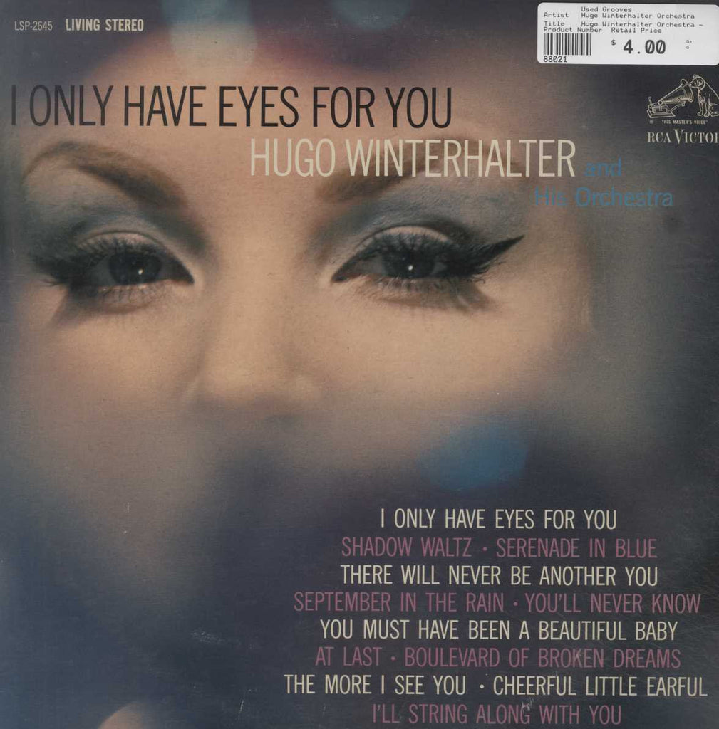 Hugo Winterhalter Orchestra - I Only Have Eyes For You