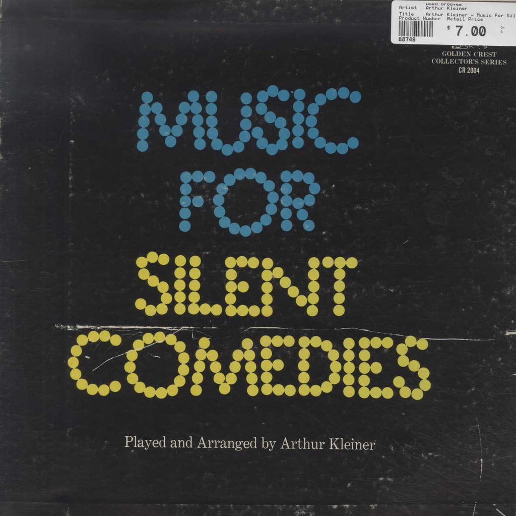 Arthur Kleiner - Music For Silent Comedies