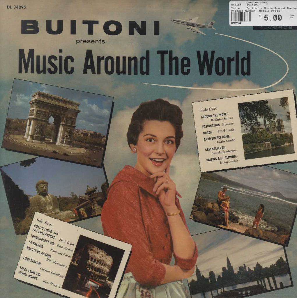 Buitoni - Music Around The World