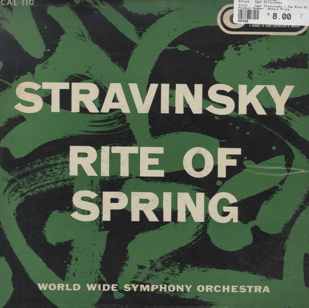 Igor Stravinsky - The Rite Of Spring (Le Sacre Du Printemps)