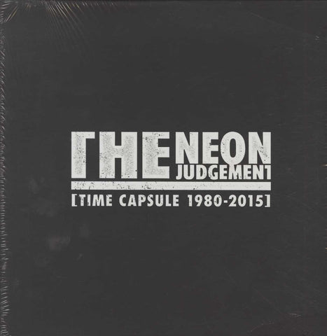 RSD 2015 SEALED! NUMBERED! The Neon Judgement - Time Capsule (1980 - 2015)
