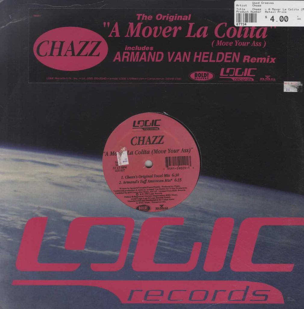 Chazz  - A Mover La Colita (Move Your Ass)