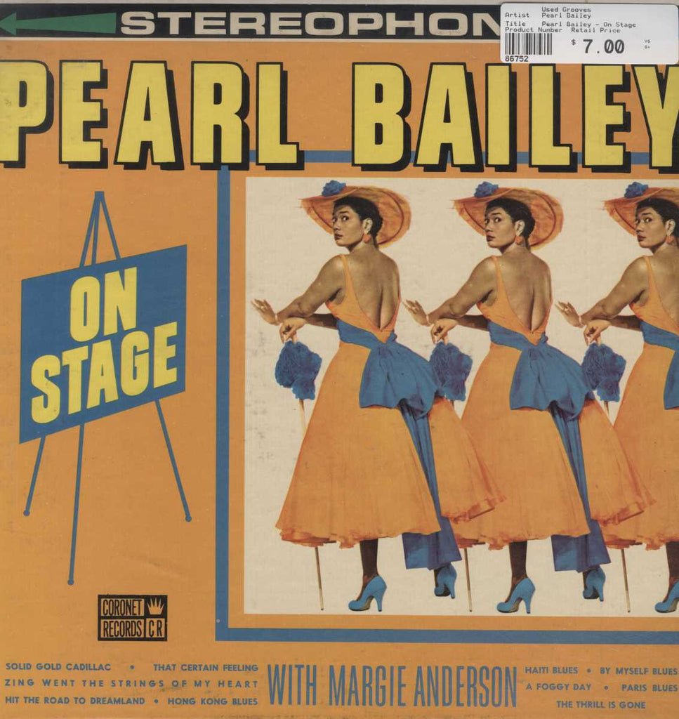 Pearl Bailey - On Stage