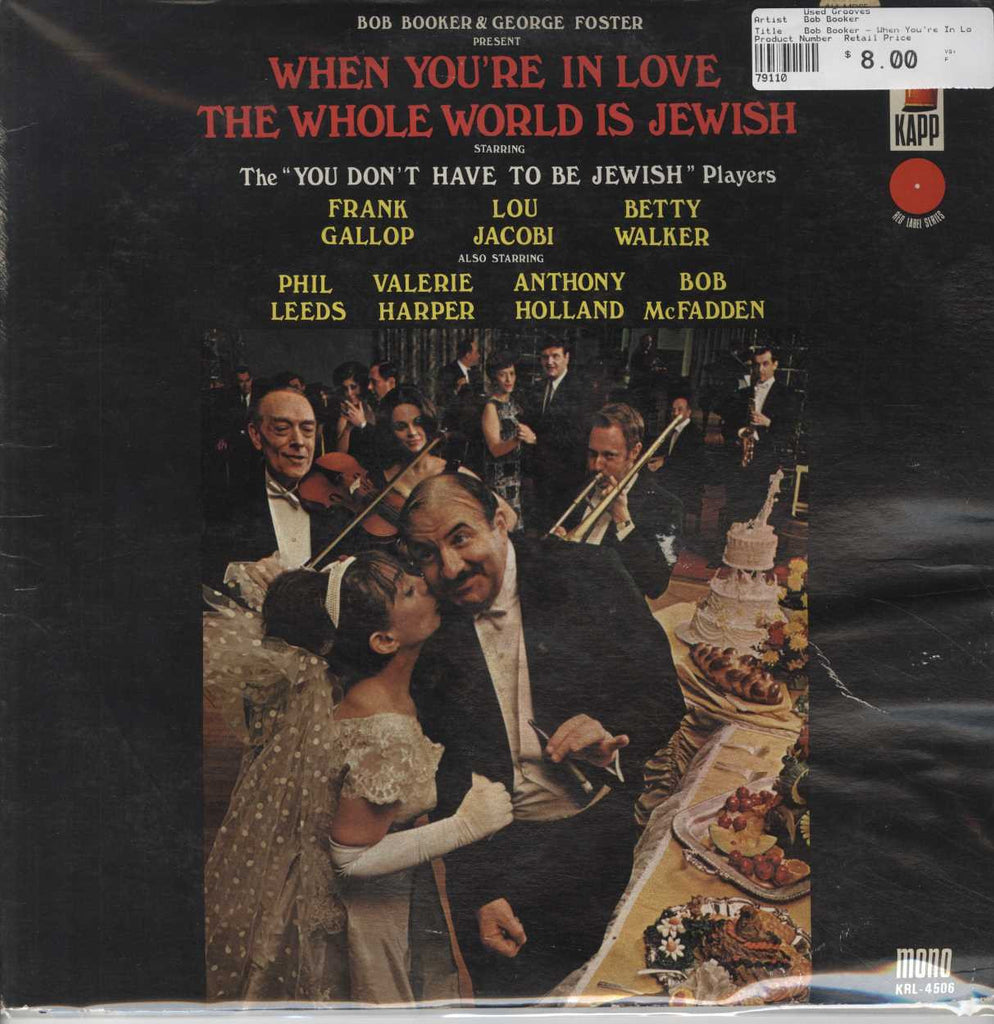 Bob Booker - When You're In Love The Whole World Is Jewish