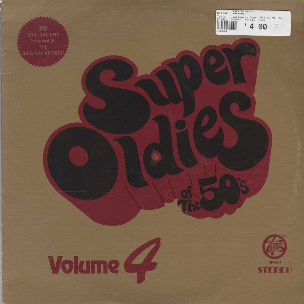 Various - Super Oldies Of The 50' S Vol. 4