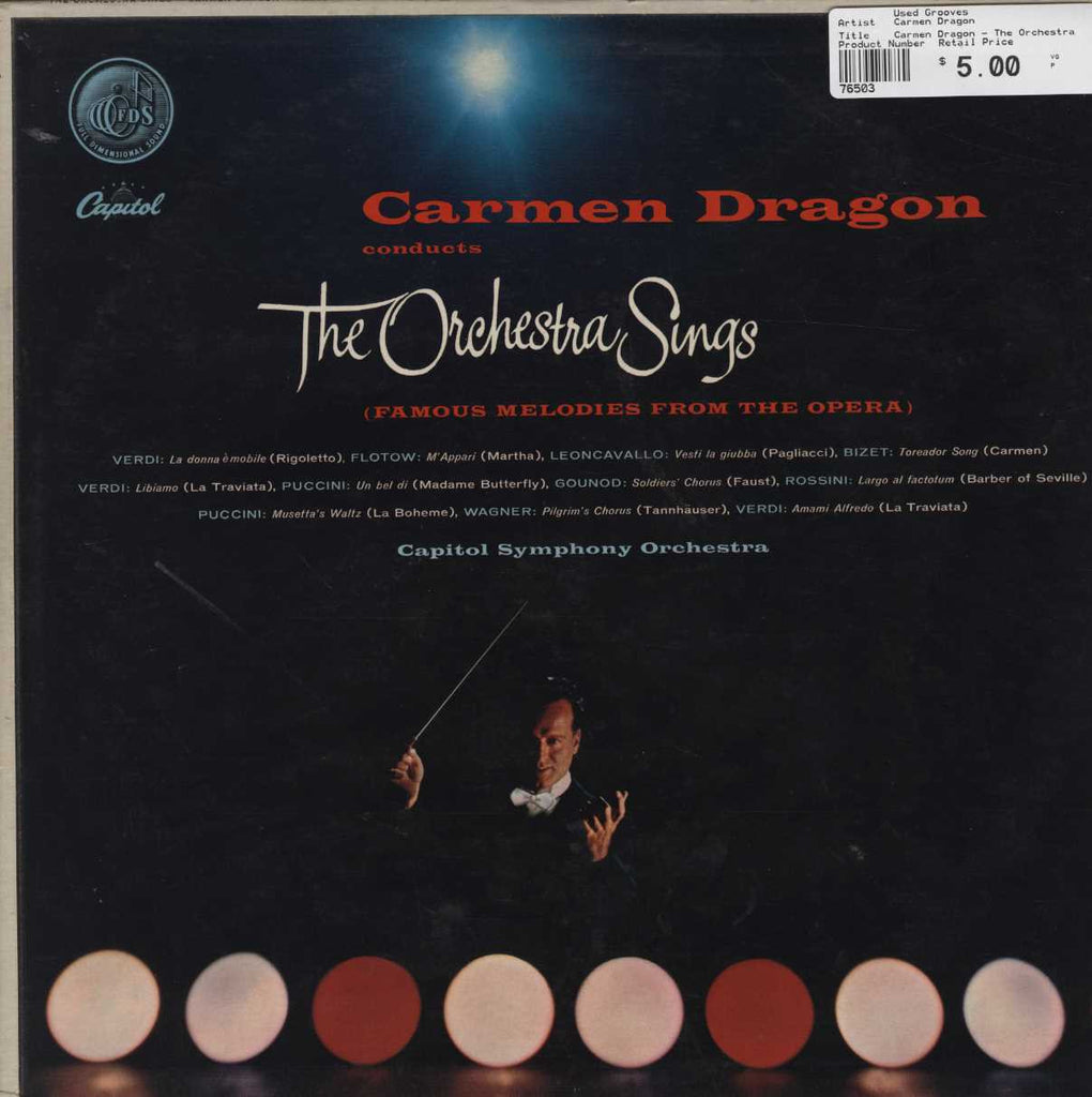 Carmen Dragon - The Orchestra Sings