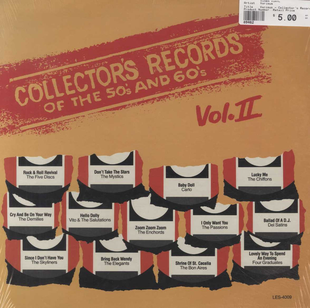 Various - Collector's Records Of The 50's And 60's Vol.2