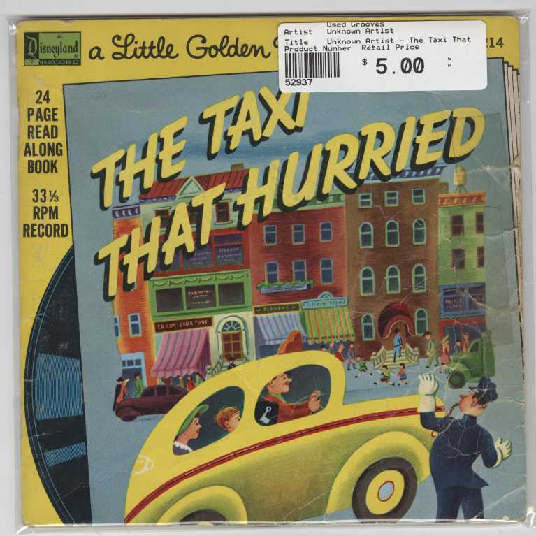 Unknown Artist - The Taxi That Hurried