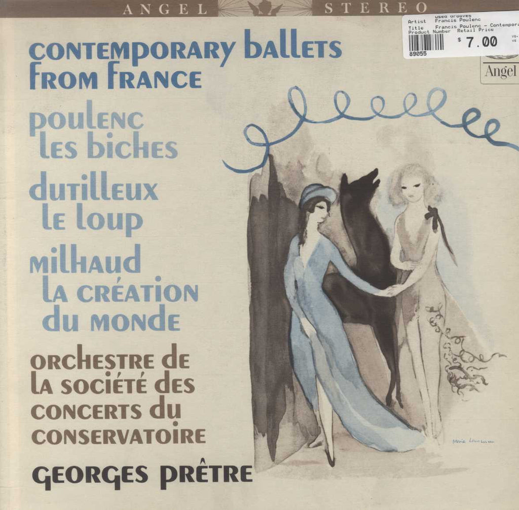 Francis Poulenc - Contemporary Ballets From France: Les Biches - Le Loup - La Création Du Monde