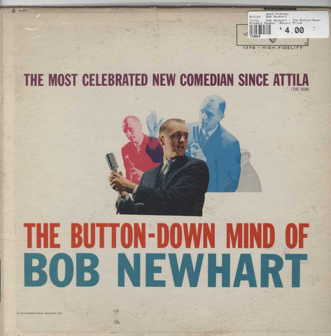 Bob Newhart - The Button-Down Mind Of Bob Newhart
