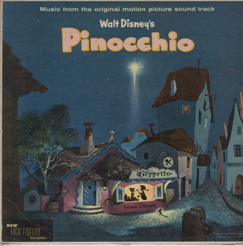 Unknown Artist - Walt Disney's Pinocchio - Music From The Original Motio Picture Sound Track