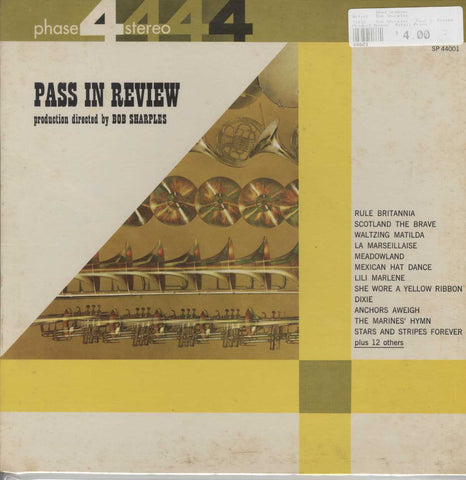 Bob Sharples - Pass In Review