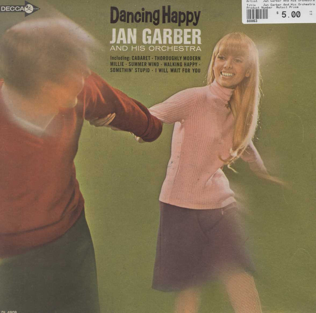 Jan Garber And His Orchestra - Dancing Happy