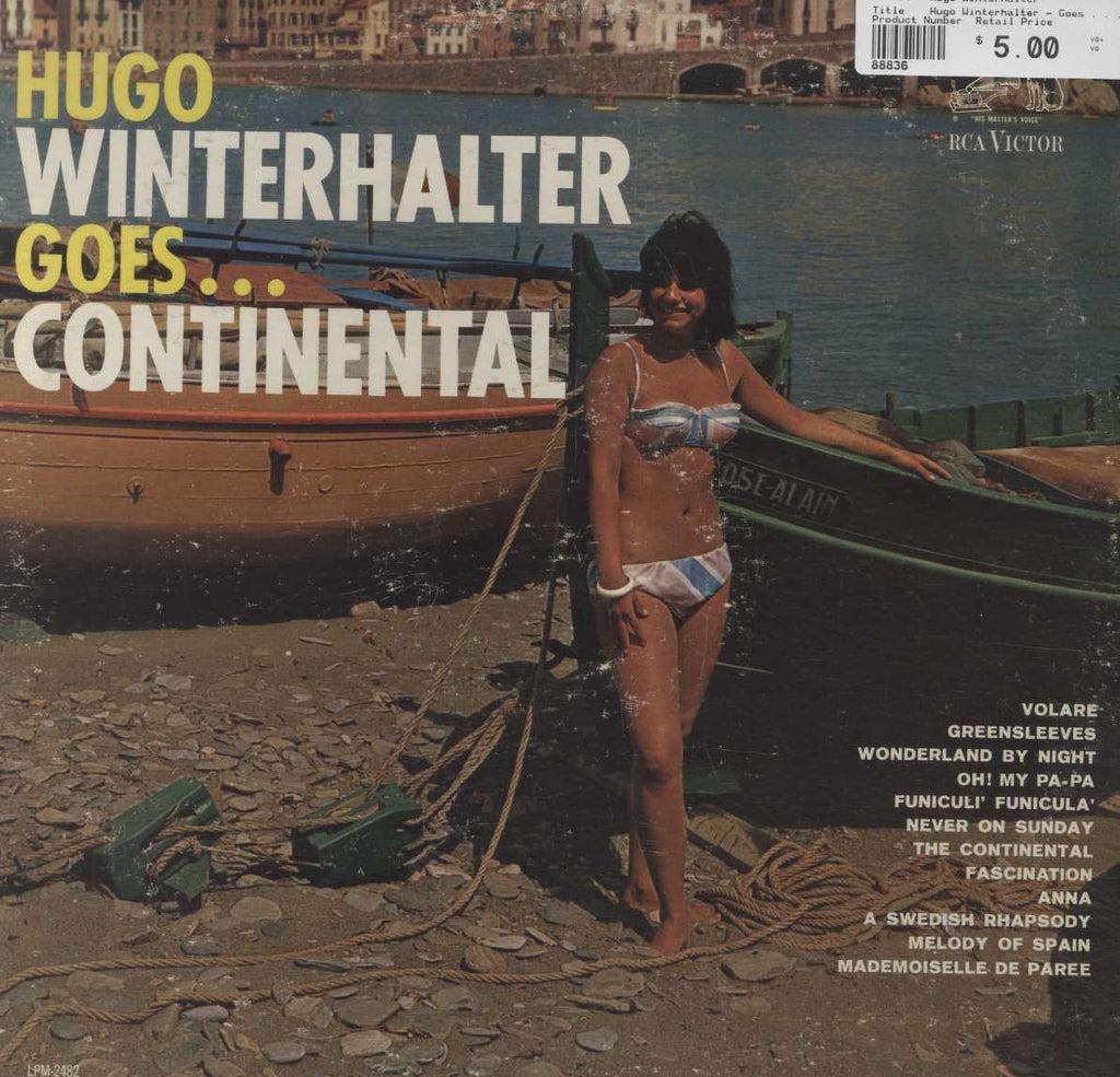 Hugo Winterhalter - Goes . . . Continental