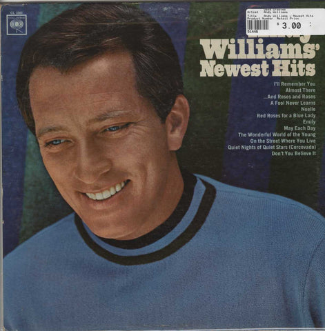 Andy Williams - Newest Hits