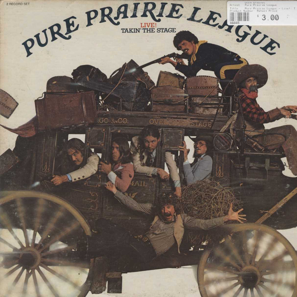 Pure Prairie League - Live!: Takin' The Stage