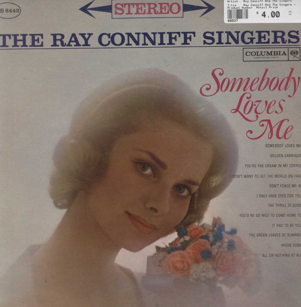 Ray Conniff And The Singers - Somebody Loves Me