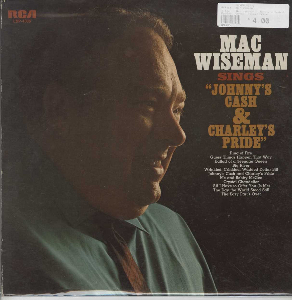 Mac Wiseman - Johnny's Cash & Charley's Pride