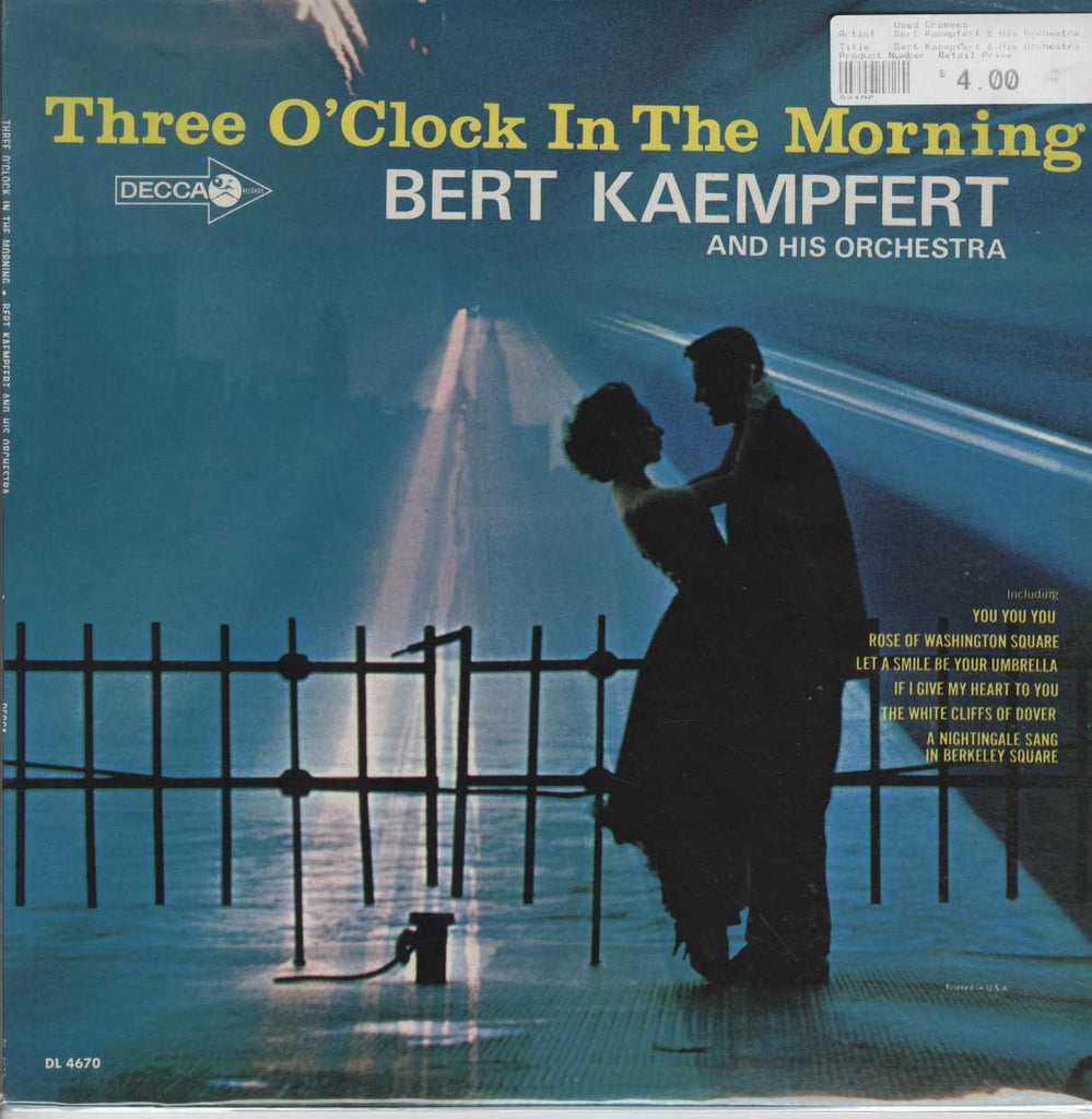Bert Kaempfert & His Orchestra - Three O'Clock In The Morning And Other Favorite Instrumentals