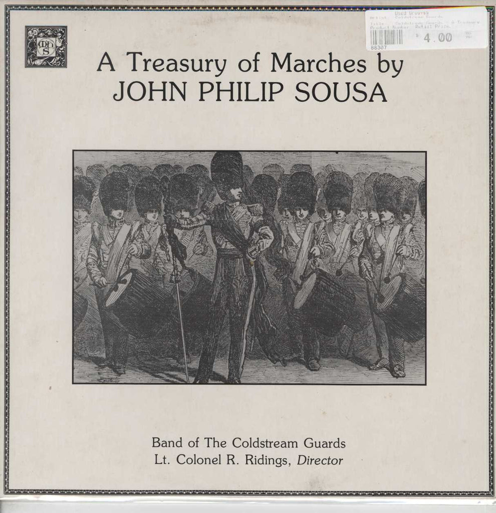 Coldstream Guards - A Treasury Of Marches By John Philip Sousa