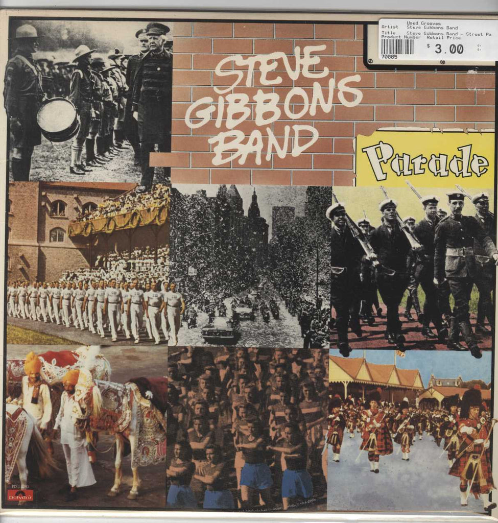 Steve Gibbons Band - Street Parade
