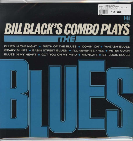 Bill Black's Combo - Plays The Blues