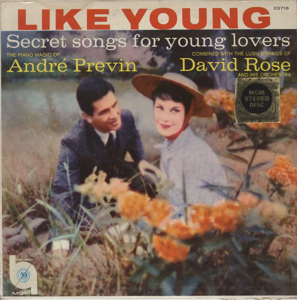 André Previn - Secret Songs For Young Lovers