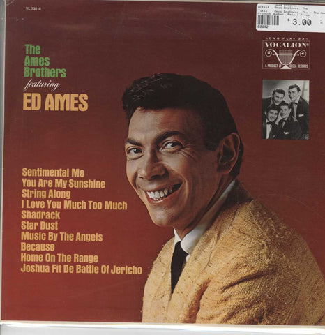 Ames Brothers, The - The Ames Brothers Featuring Ed Ames