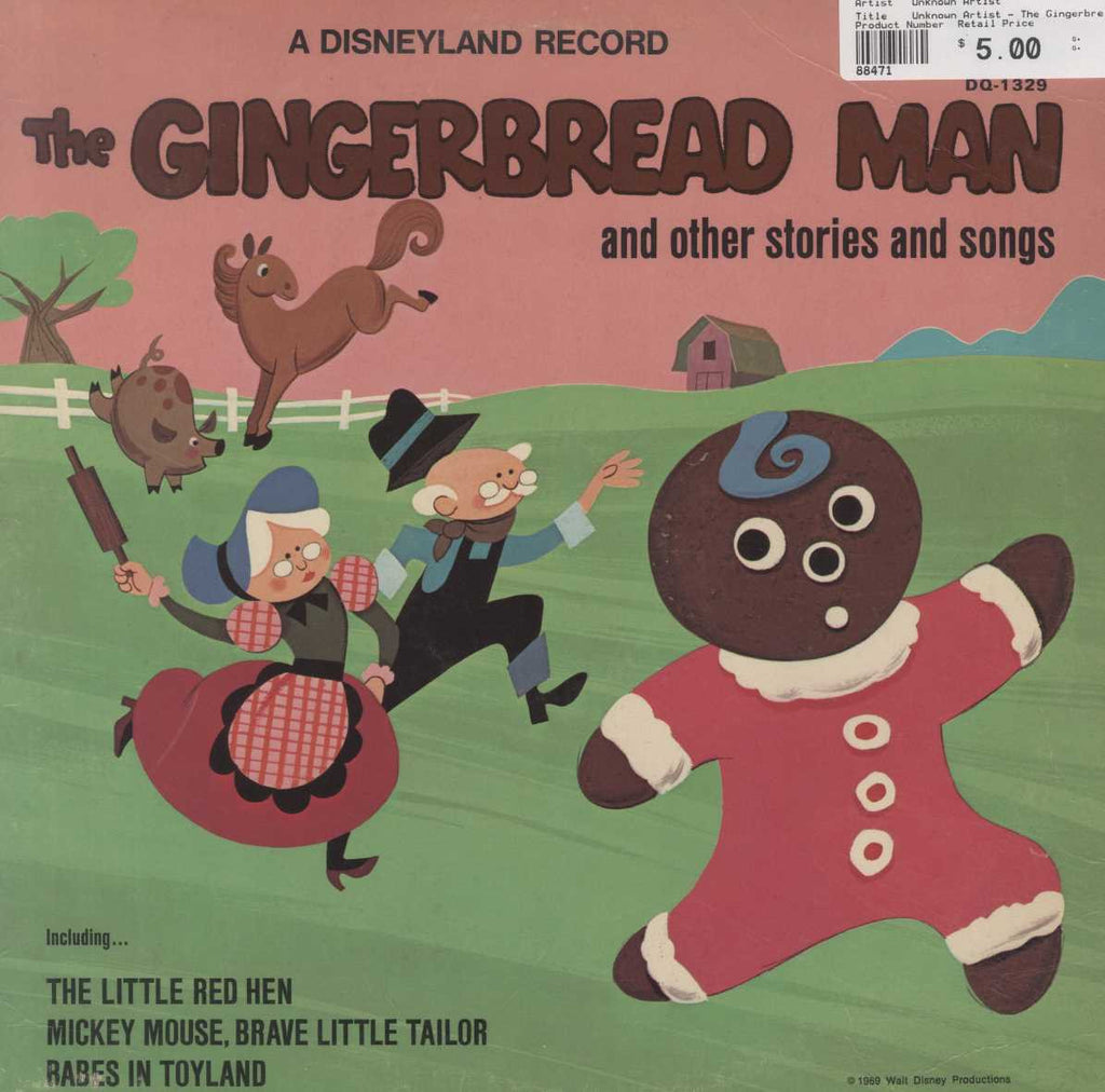 Unknown Artist - The Gingerbread Man And Other Stories And Songs