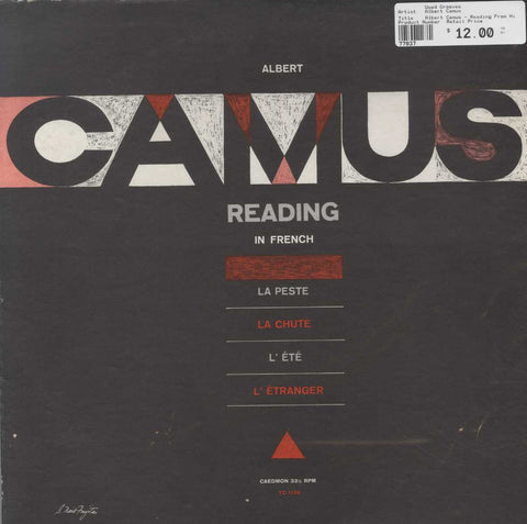 Albert Camus - Reading From His Novels And Essays