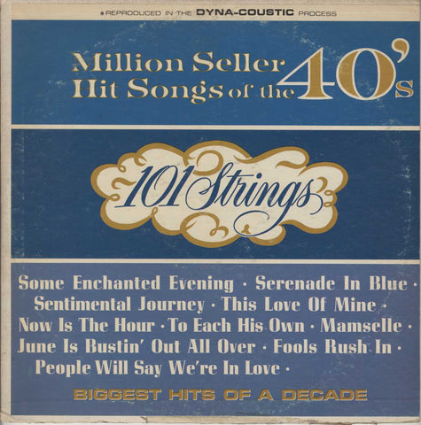 101 Strings - Million Seller Hit Song's Of The 40's